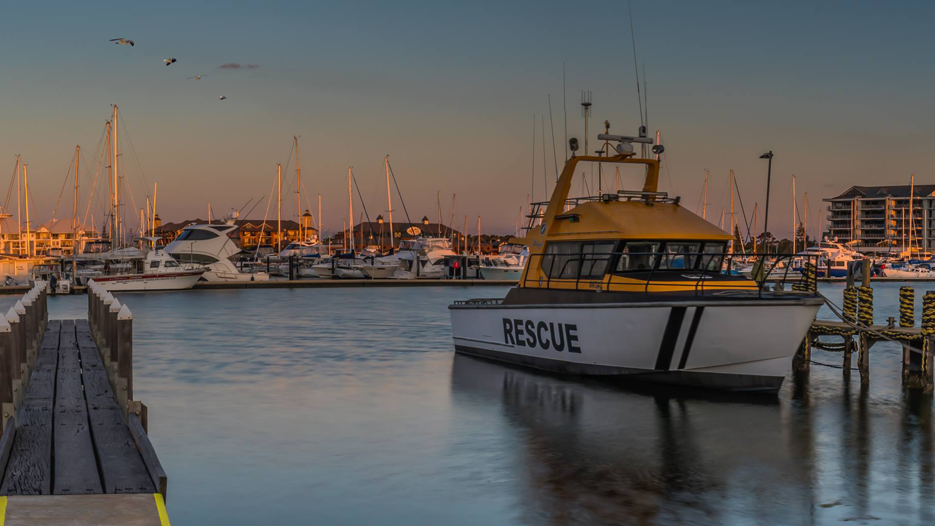 Mandurah water rescue